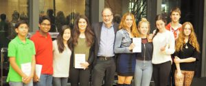 Meeting Nobel Prize Winner, Alvin Roth from Stanford University.