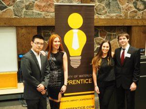 Waterloo University: Brain Power public speaking alumni host and take part in the UW Apprentice Competition.