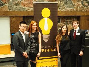 Waterloo University: Brain Power public speaking alumni host and take part in the UW Apprentice Competition.